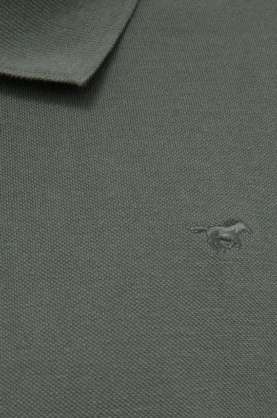 Mustang - Bavlněné polo tričko Pánský