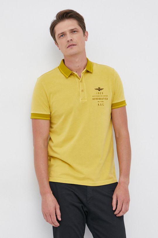 żółty Aeronautica Militare - Polo