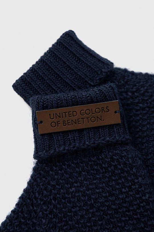 United Colors of Benetton - Dětské rukavice námořnická modř