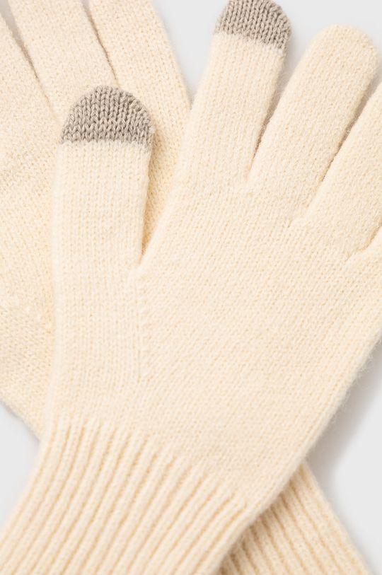 Only - Rękawiczki kremowy