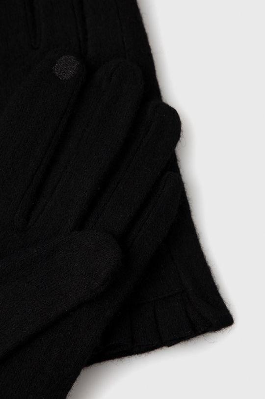 Only - Rękawiczki z domieszką wełny czarny