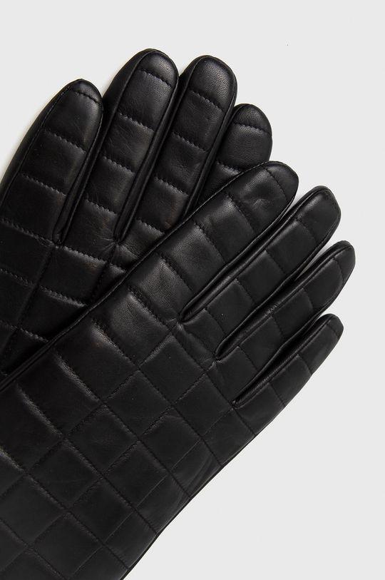 Tiger Of Sweden - Rękawiczki skórzane czarny
