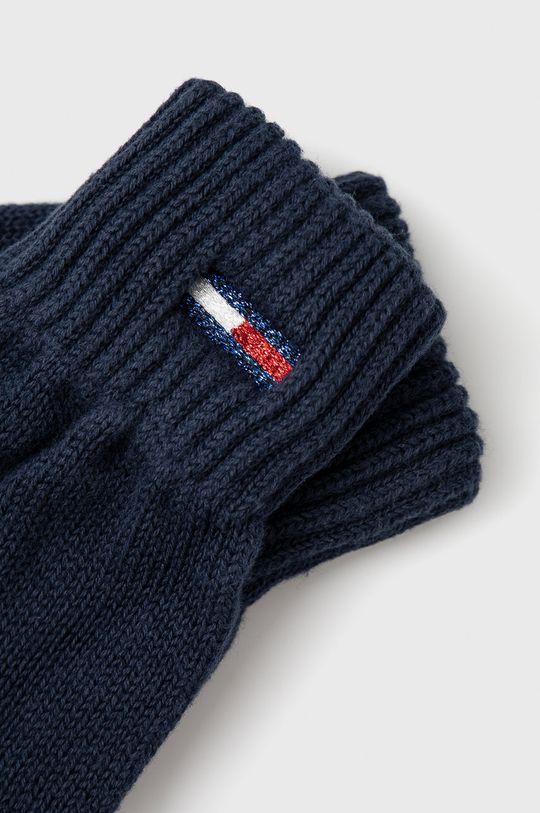 Tommy Jeans - Rękawiczki granatowy