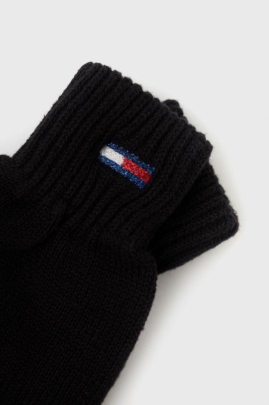 Tommy Jeans - Rękawiczki czarny