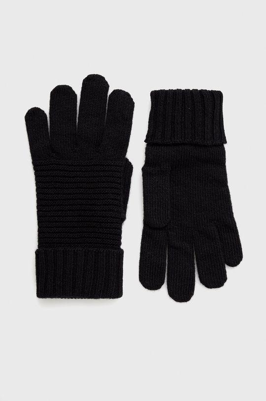 černá United Colors of Benetton - Dětské rukavice Dámský