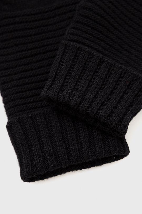United Colors of Benetton - Dětské rukavice černá