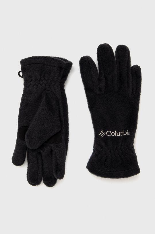 czarny Columbia - Rękawiczki dziecięce Dziecięcy