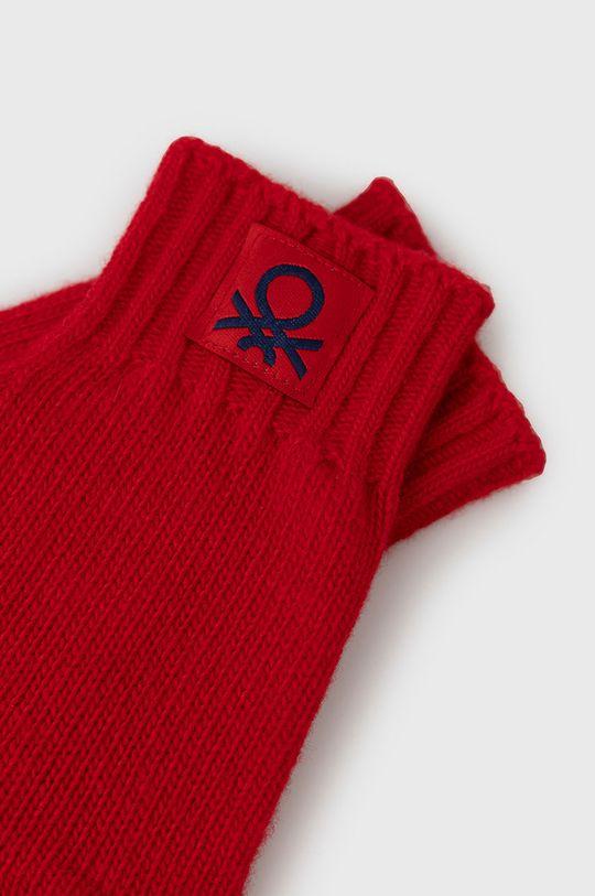 United Colors of Benetton - Rękawiczki dziecięce czerwony