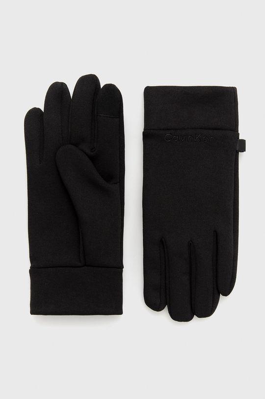 czarny Calvin Klein - Rękawiczki Męski