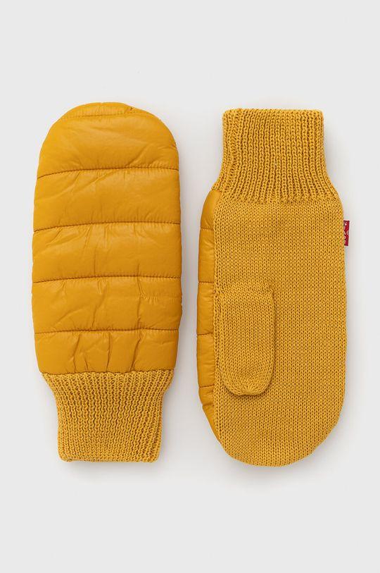 žlutá Levi's - Rukavice Pánský