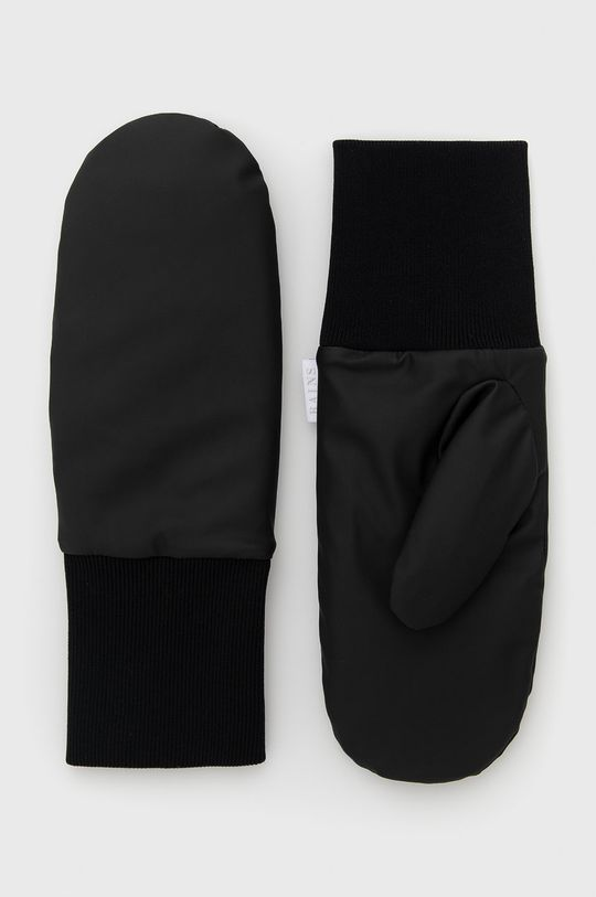 černá Rains - Rukavice Unisex