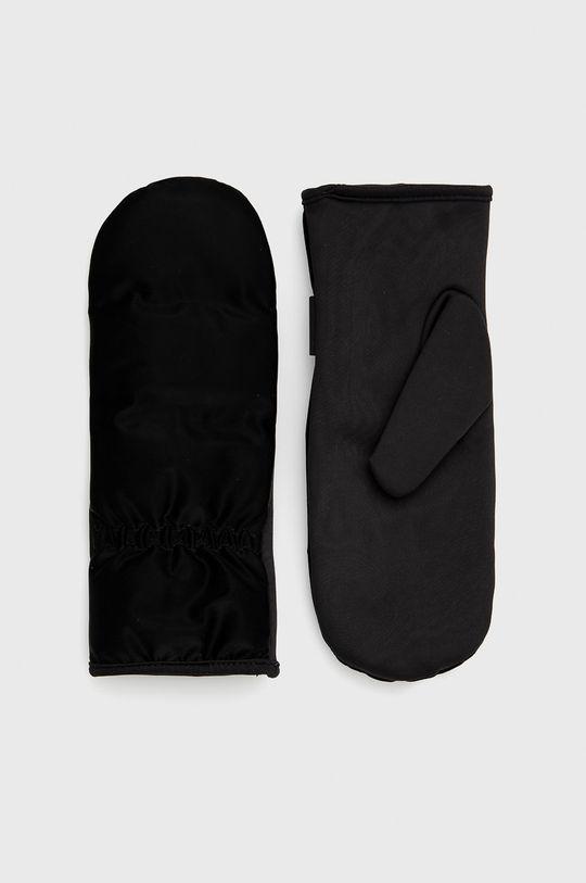 czarny Rains - Rękawiczki 1671 Mittens Quilted Unisex