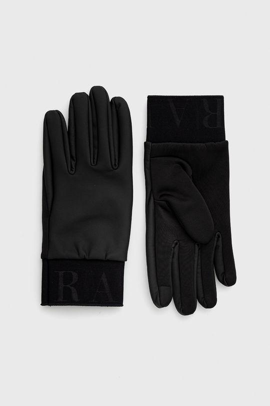 czarny Rains - Rękawiczki 1672 Gloves Unisex