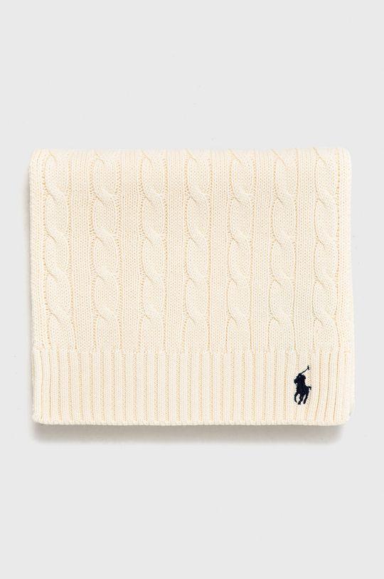 Polo Ralph Lauren - Szalik kremowy