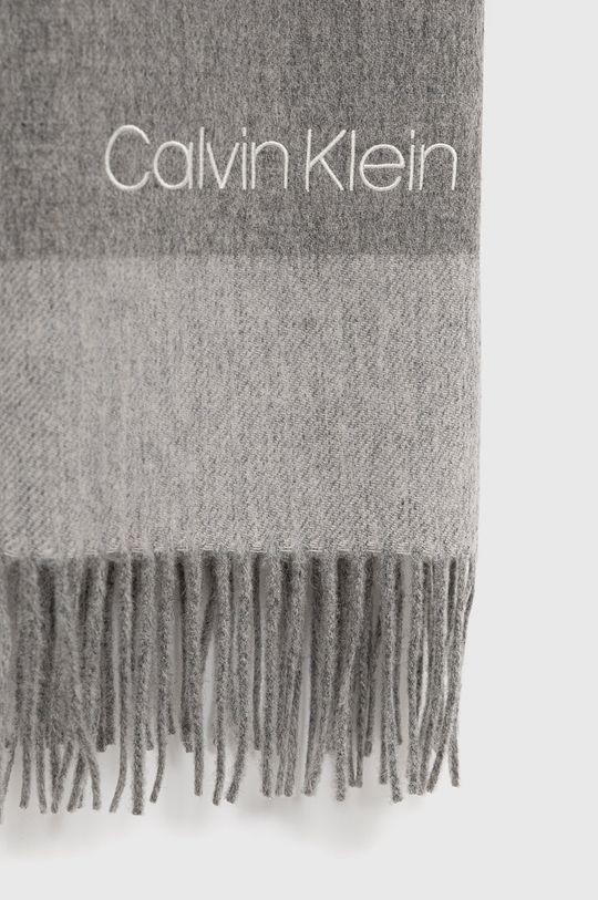 Calvin Klein - Szalik 100 % Wełna
