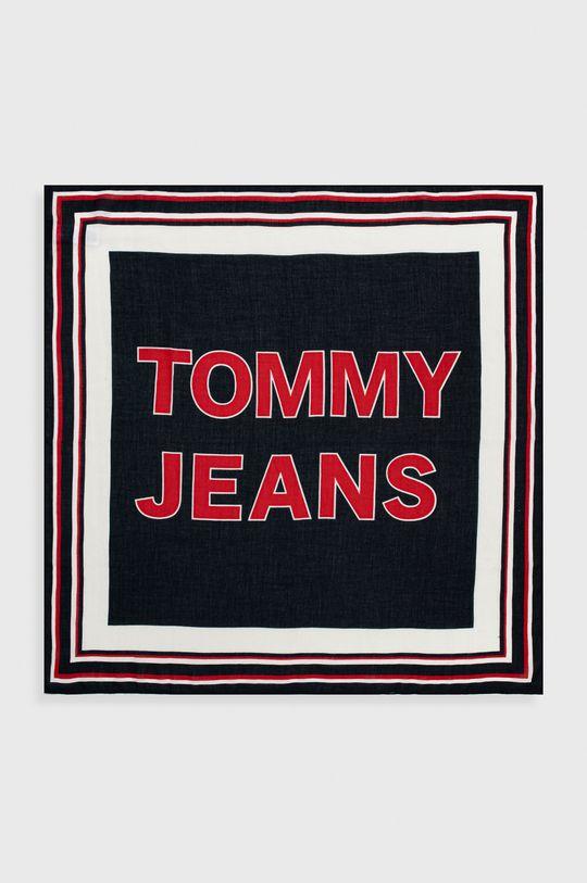 Tommy Jeans - Šátek námořnická modř