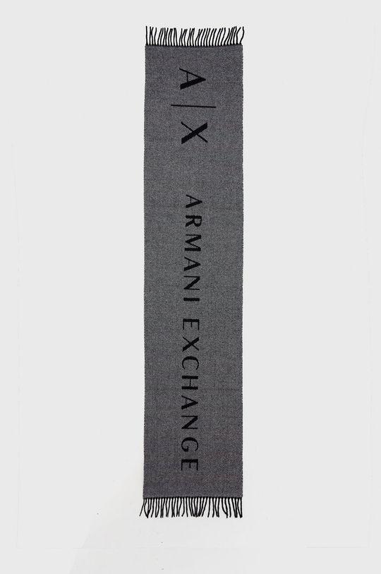 Armani Exchange - Szal szary