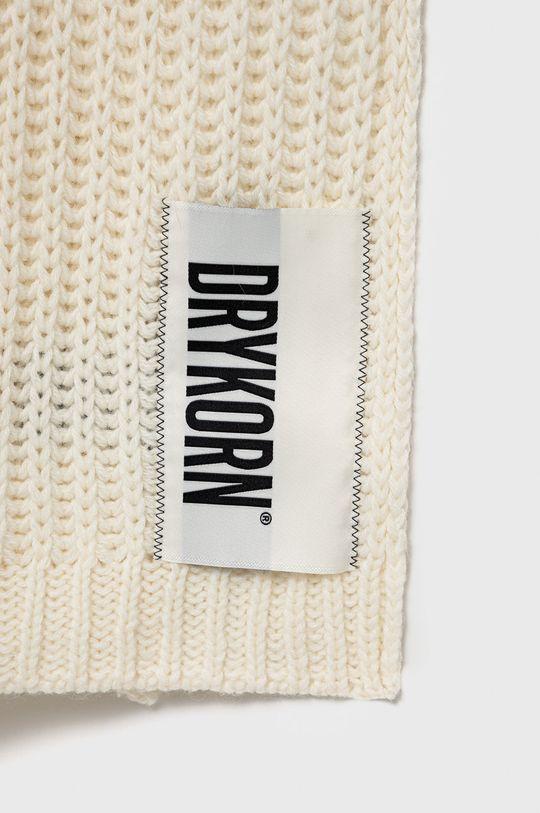 Drykorn - Szalik wełniany Cronica biały