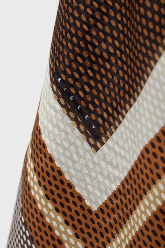 Sisley - Chusta brązowy