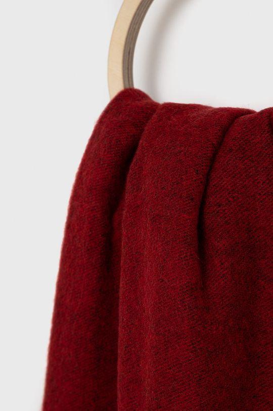 Hugo - Szalik wełniany czerwony