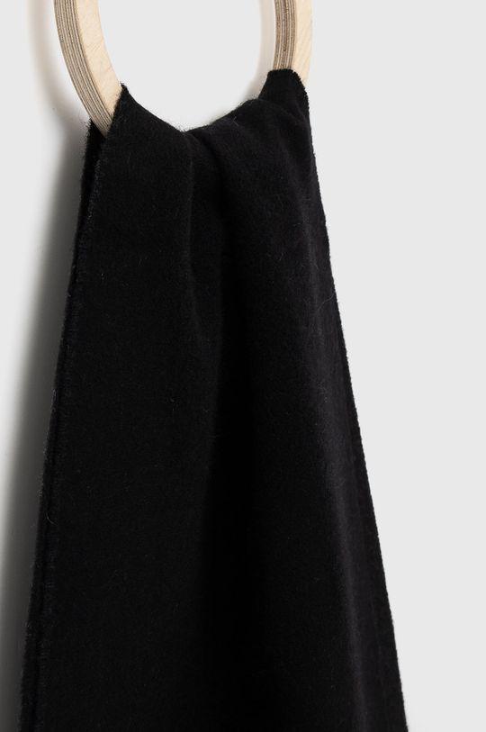 ETON - Szalik wełniany czarny