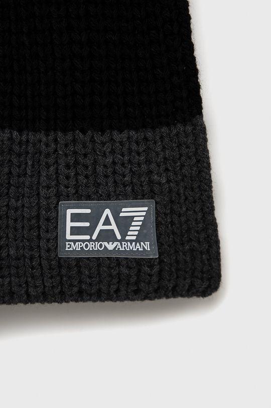 EA7 Emporio Armani - Szalik czarny