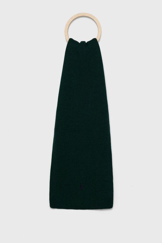 zielony Polo Ralph Lauren - Szalik wełniany Męski