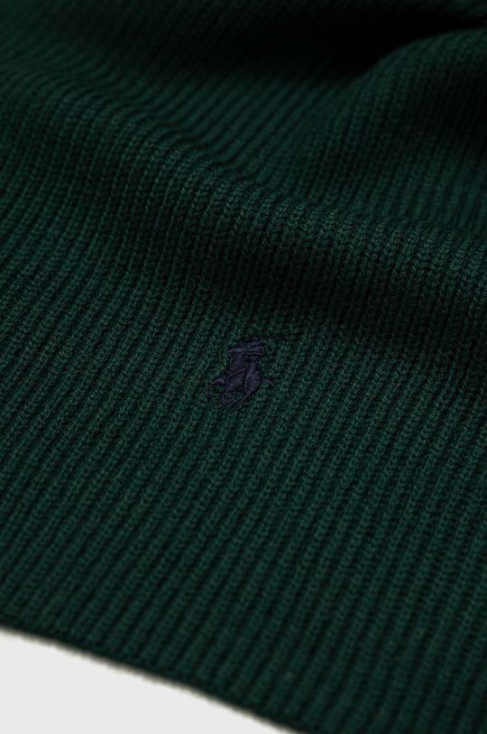 Polo Ralph Lauren - Szalik wełniany zielony