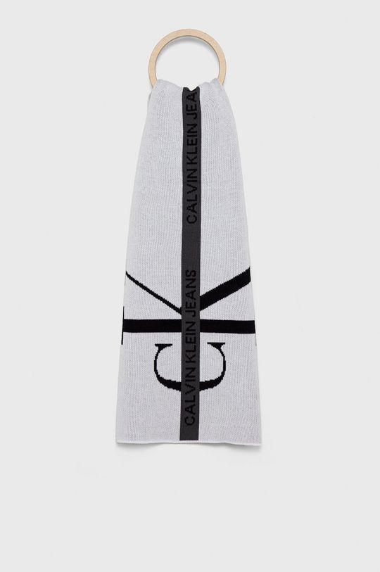 biały Calvin Klein Jeans - Szalik Męski