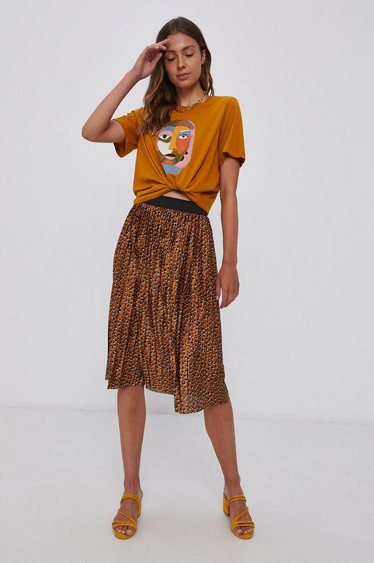 Jacqueline de Yong - Spódnica brązowy