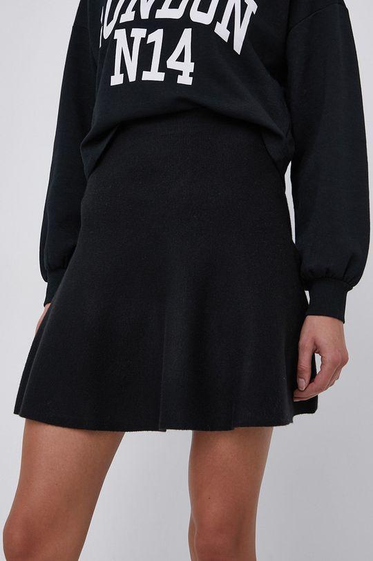 czarny Only - Spódnica Damski