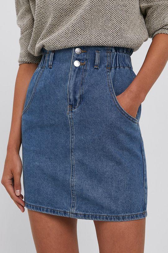 Only - Spódnica jeansowa niebieski