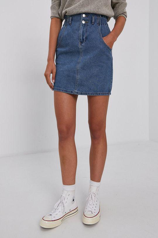 Only - Spódnica jeansowa 100 % Bawełna