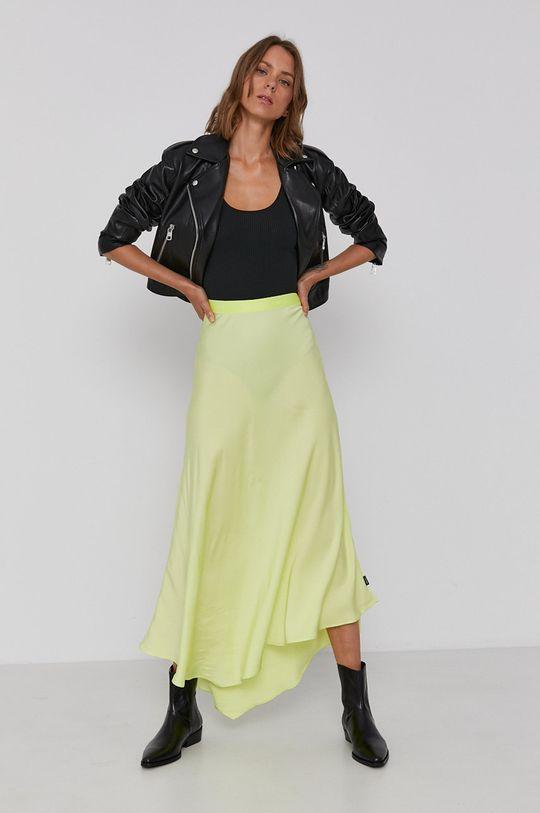 jasny żółty Calvin Klein - Spódnica Damski