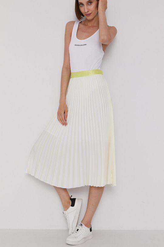 žlutá Calvin Klein - Sukně Dámský
