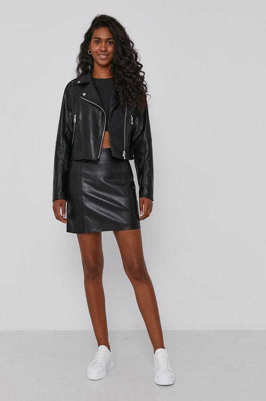 Calvin Klein Jeans - Sukňa čierna