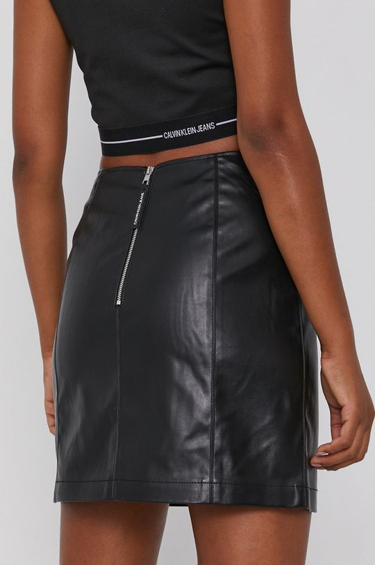 Calvin Klein Jeans - Sukňa  Podšívka: 100% Polyester Základná látka: 45% Polyester, 55% Polyuretán