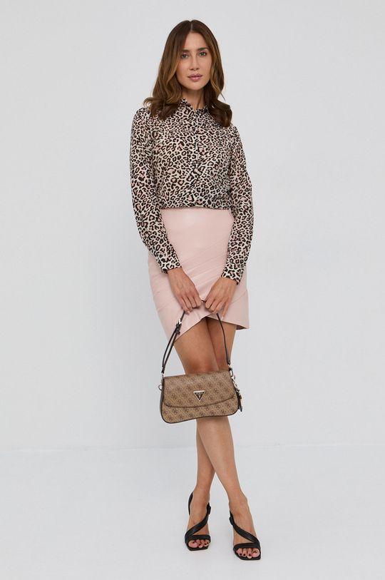 Guess - Spódnica różowy