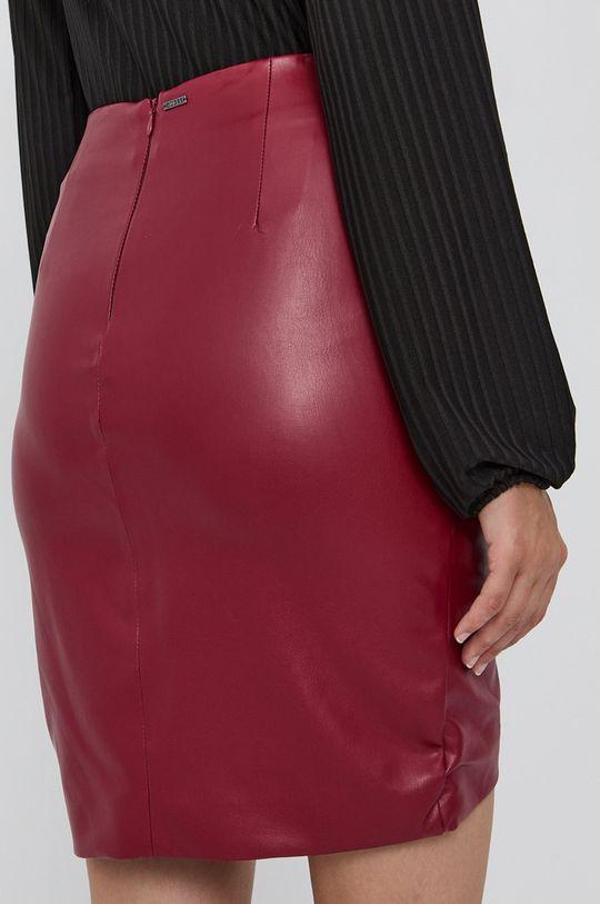 Guess - Spódnica Podszewka: 5 % Elastan, 95 % Poliester, Materiał zasadniczy: 100 % Poliuretan