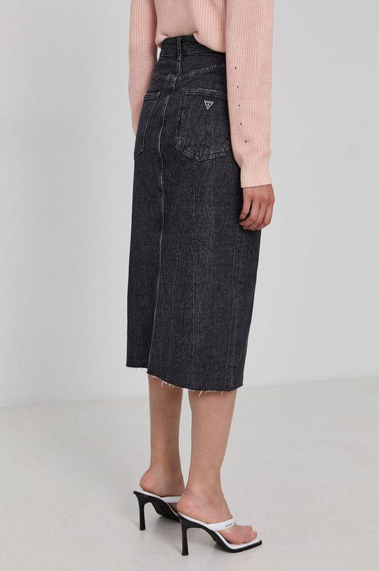 Guess - Spódnica jeansowa 99 % Bawełna, 1 % Elastan