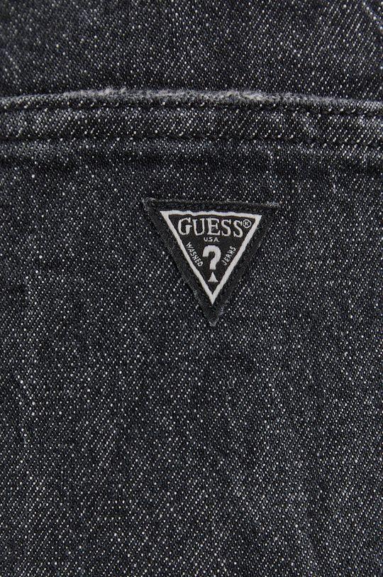 szary Guess - Spódnica jeansowa