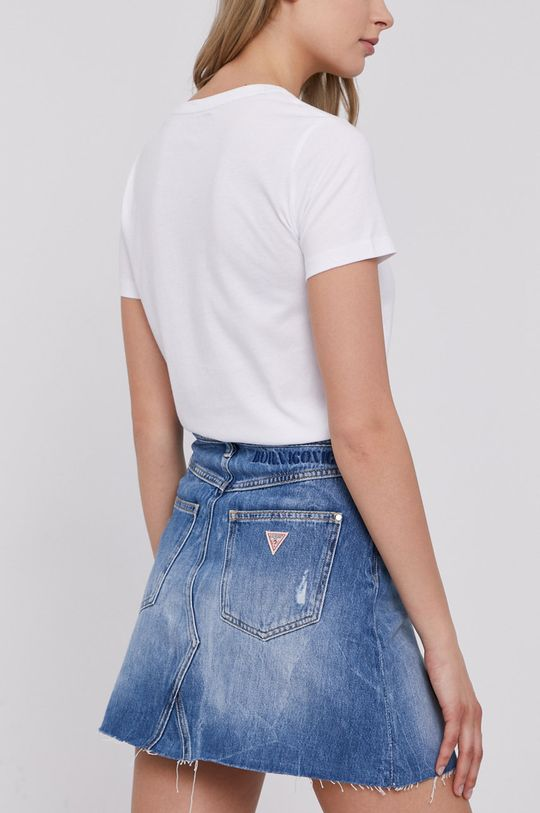 Guess - Spódnica jeansowa 100 % Bawełna