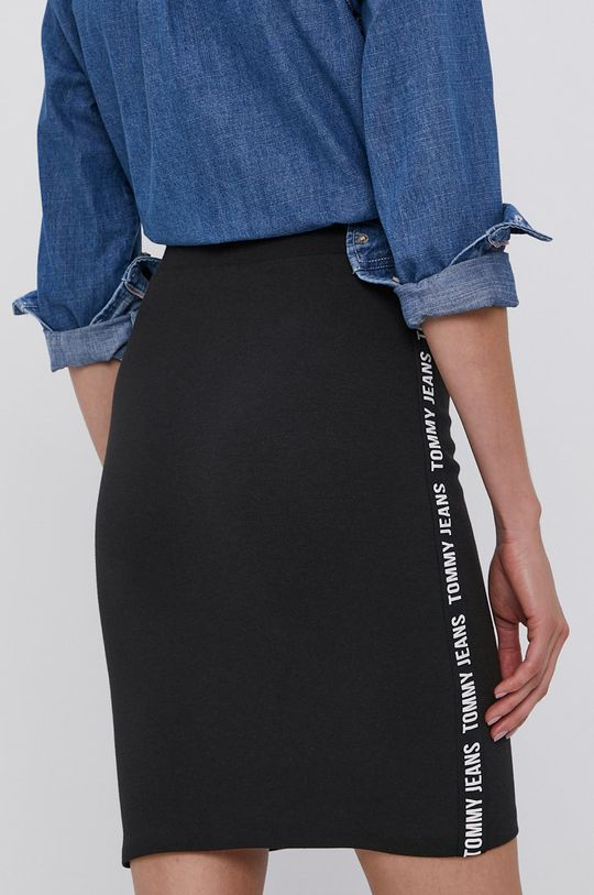 Tommy Jeans - Spódnica 35 % Bawełna, 4 % Elastan, 61 % Poliester
