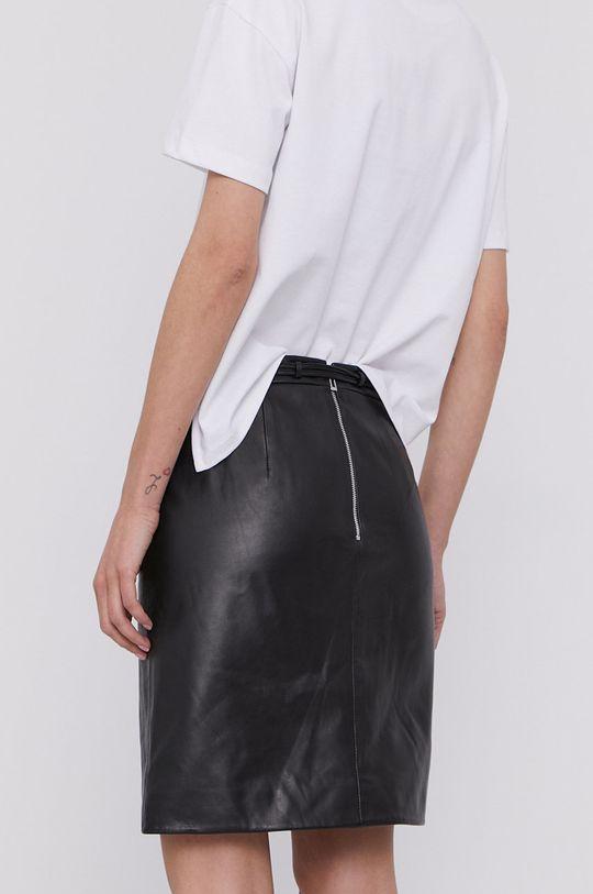 Hugo - Kožená sukně  Podšívka: 100% Polyester Hlavní materiál: 100% Přírodní kůže