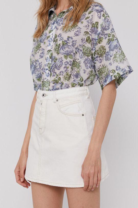 biały Pepe Jeans - Spódnica jeansowa Maddie Mix Damski