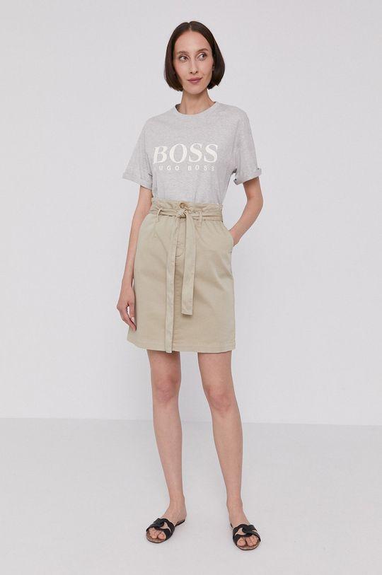 Boss - Spódnica beżowy