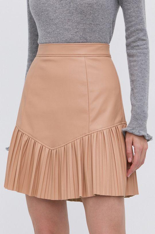 beżowy Guess - Spódnica Damski