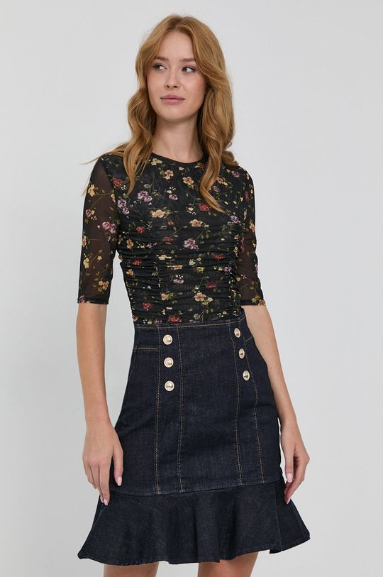 bleumarin Guess - Fusta jeans