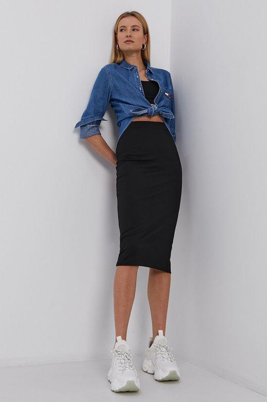 czarny Tommy Jeans - Spódnica Damski