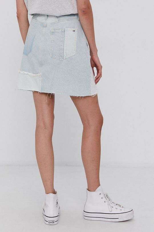 Tommy Jeans - Bavlněná džínová sukně  100% Bavlna